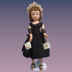 Vintage 1955 Madame Alexander Cissy Doll All Original with Wrist Tag