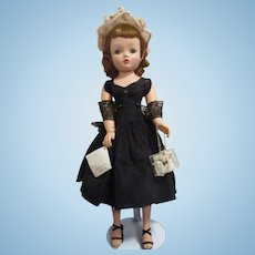 Vintage 1955 Madame Alexander Cissy Doll All Original with Wrist Tag