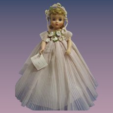Vintage 1959 Madame Alexander Elise Doll with Wrist Tag