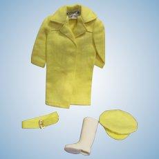 "Vintage Mattel Skipper 1965 #1916 ""Rain Or Shine"" Outfit"