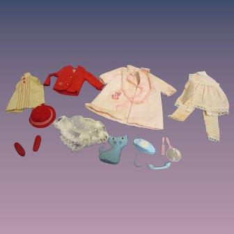 Vintage Mattel Skipper Clothes & Accessory Lot