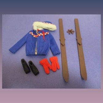 """Vintage Mattel Barbie 1963 #948 """"Ski Queen"""""""