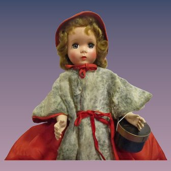 "Rare 1953 Madame Alexander ""Godey Lady"" Doll All Original from the Glamour Series"