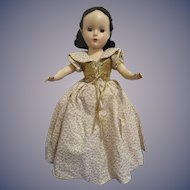 "1952 Madame Alexander ""Snow White"" Doll All Original"