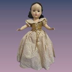 """1952 Madame Alexander """"Snow White"""" Doll All Original"""
