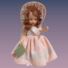 """Nancy Ann Storybook Doll """"First Day of School"""" from Commencement Series Boxed"""