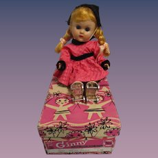 "Vogue 1950s Ginny ""Roller Skater"" Doll in Original Box"