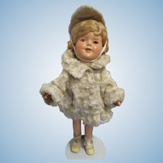 "1930s Ideal 13"" Composition Shirley Temple Doll"