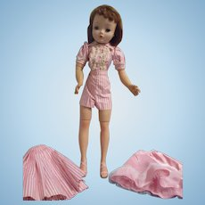 Vintage 1956 Madame Alexander Cissy Doll in Tagged Outfit