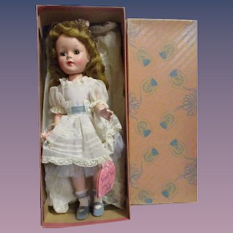 """Vintage 1950s American Character """"Sweet Sue"""" Doll MIB"""