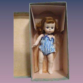 "Vintage 1953 Madame Alexander Early 8"" Alexander-kin Doll Boxed"