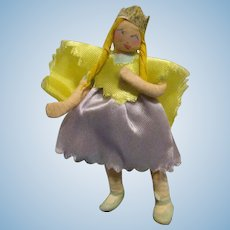 "Vintage 1940s Ravca Fairy Tale ""Princess"" Doll All Original"