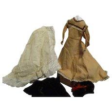 Vintage French Fashion 4 Piece Ensemble