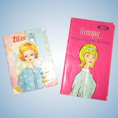 Vintage Original Ideal Tammy Booklets Lot of 2