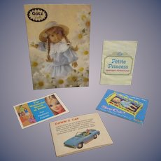 Vintage Original Doll Booklets Lot of 5