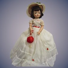 Vintage 1955 Madame Alexander Cissy Doll All Original.