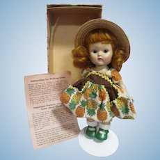 "Vogue 1954 Ginny ""Tiny Miss"" Doll in Original Box"