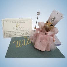 "R John Wright MIB ""Glinda The Good Witch of the North"" from The Wizard of Oz Mice"