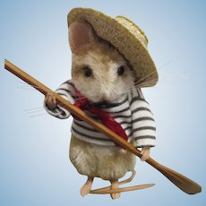 """R John Wright MIB """"The Gondolier"""" from The Around the World Mice Series"""
