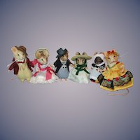 """R John Wright """"Gone With The Wind"""" Mouse Set MIB"""