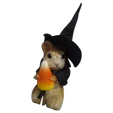 """R John Wright MIB """"Trick or Treat"""" from The  Halloween Mouse Series ARTIST PROOF 2/5"""