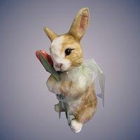 "R John Wright MIB ""Tulip"" from the Springtime Bunny Series ARTIST PROOF 5/5"