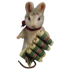 "R John Wright MIB ""Merry"" from The Christmas Mice Series"