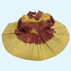 Vintage Tagged Terri Lee HTF Sunflower Dress