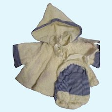 Vintage Tagged Terri Lee Bathing Suit Set