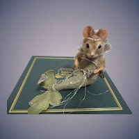 """R John Wright MIB """"The Little Mermaid"""" Mouse from The Fairy Tale Series"""