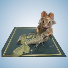 "R John Wright MIB ""The Little Mermaid"" Mouse from The Fairy Tale Series"