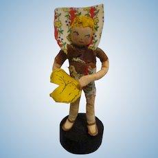 "Vintage 1940s Ravca Fairy Tale ""Little Jack Horner"" Doll All Original"