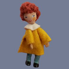 Vintage Rare German Baps Little Boy Doll