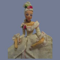 Vintage German Baps French Court Lady Doll