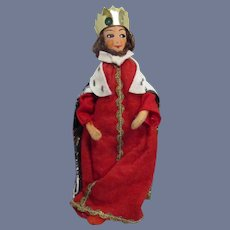 Vintage German Baps Royal Court King Doll