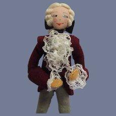 Vintage German Baps French Court Gentleman Doll