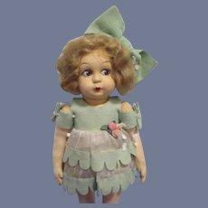 Vintage Cloth Eros Italian Doll All Original