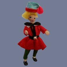 Vintage Rare German Baps Young Boy Character Doll
