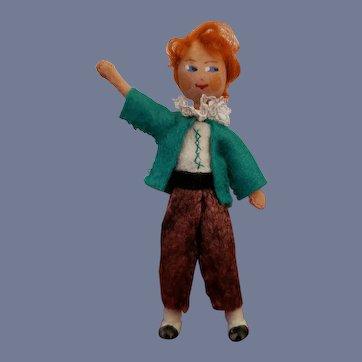Vintage Rare German Baps Boy Doll