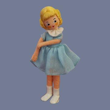 Vintage Rare German Baps Girl Doll