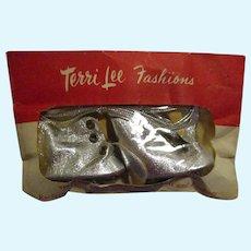Vintage Tiny Terri Lee Ice Skates MIP