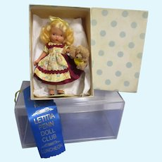 "Vintage Bisque Nancy Ann Storybook Doll ""Goldilocks & the Baby Bear"" # 128 Mint in Box"