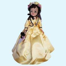"VHTF 1959 Madame Alexander ""Renoir in Yellow"" Cissy Portrait Doll"