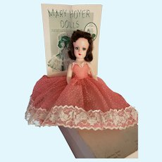 Vintage 1950s Tagged Mary Hoyer Doll in Box All Original