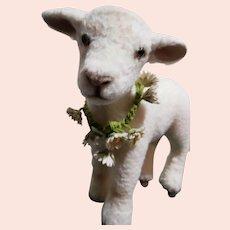 "R John Wright Springtime Friends ""Flossie"" The Lamb MIB"