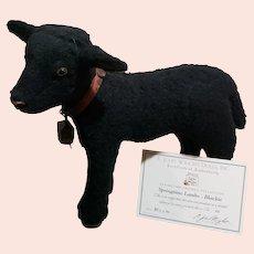 "R John Wright Springtime Friends ""Blackie"" The Lamb MIB"