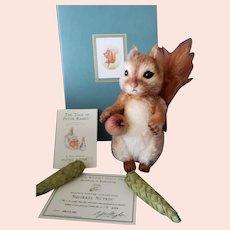 R John Wright Beatrix Potter's Squirrel Nutkin MIB