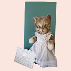 R John Wright Beatrix Potter's Mittens Kitten MIB