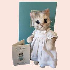 R John Wright Beatrix Potter's Moppet Kitten MIB