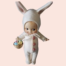 "MIB R. John Wright ""Kewpie Bunny"" Doll"